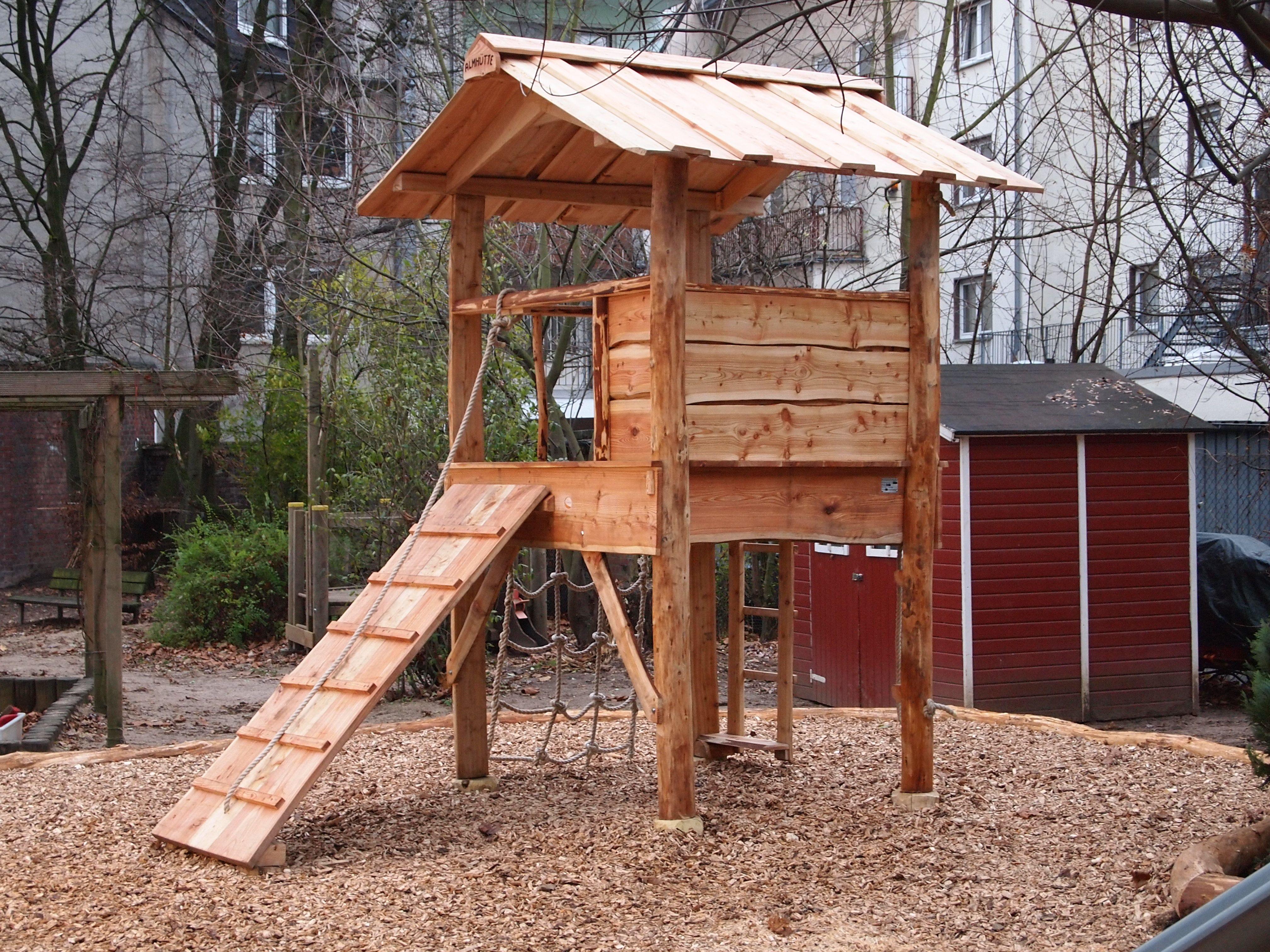 Spieltürme für Kindergarten Kinder baumhaus, Baumhaus