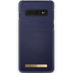 Samsung Galaxy S10 Cases Saffiano Case Galaxy S10 Navy iDeal of SwedeniDeal of Sweden...  #Cases #Galaxy #S10