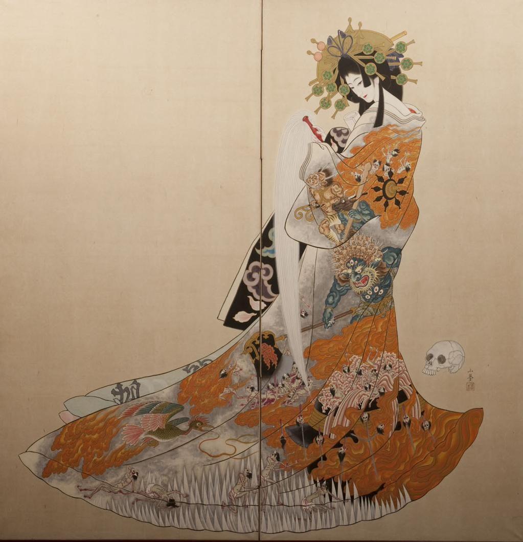 Jigoku-dayuu by Takeji Yumehisa
