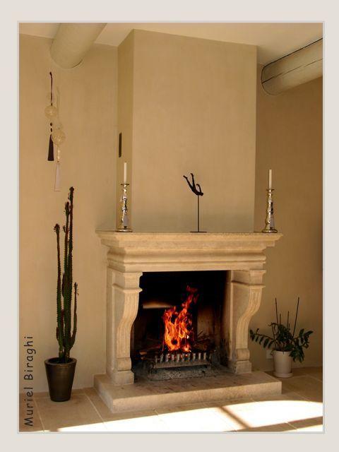 chemin e en pierre de bourgogne d coration muriel biraghi. Black Bedroom Furniture Sets. Home Design Ideas