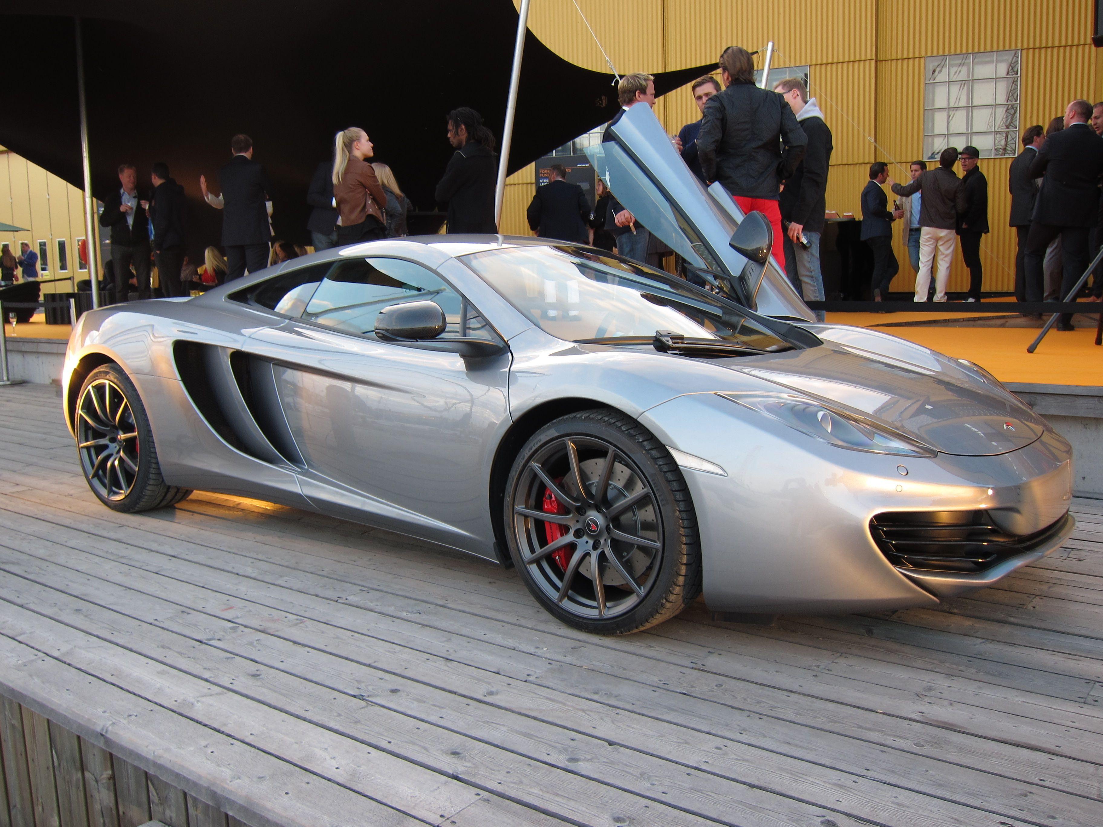 McLaren MP4-12C, now in Sweden