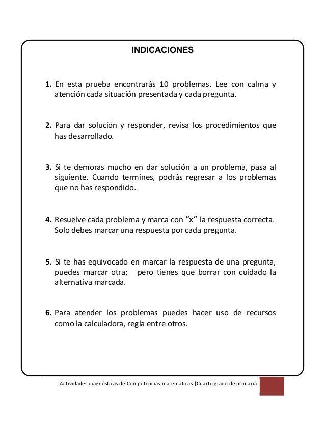 Nice Problemas De Matematicas Cuarto De Primaria Images Gallery ...