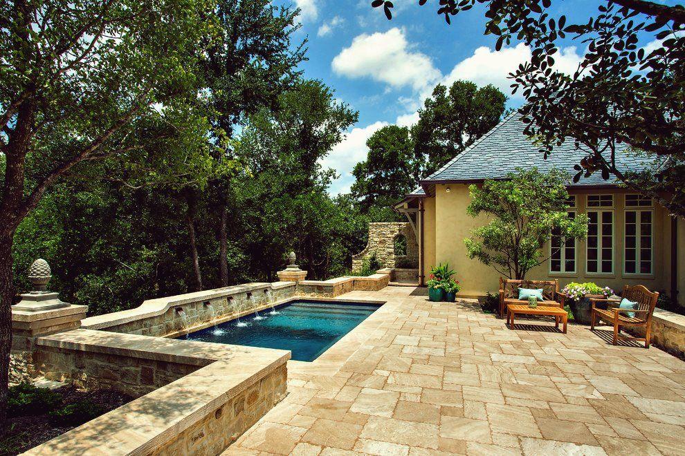 15 Imposante Mediterrane Swimmingpool Designs Die Nichts Weniger Als Spektakular Sind Design Kleiner Garten Swimmingpool Schwimmbad Designs