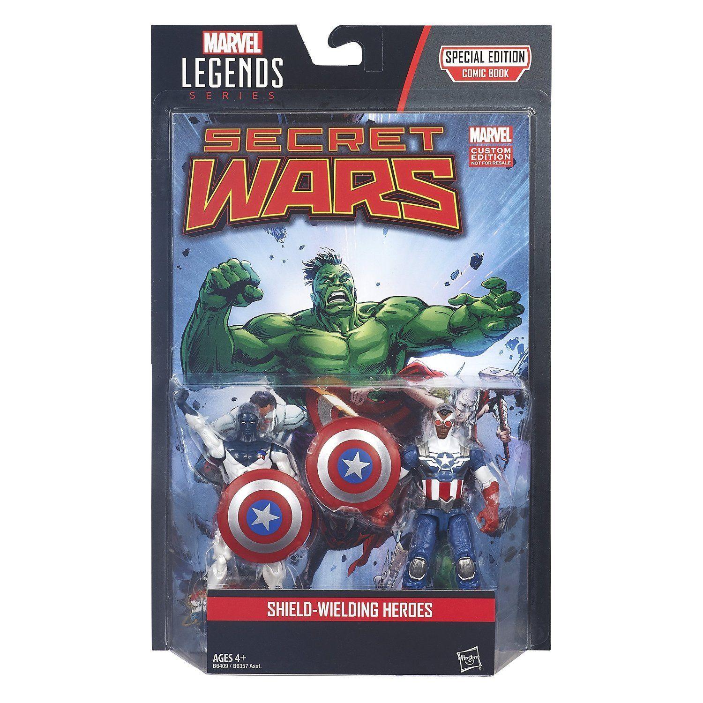 Marvel Legends Secret Wars Comic Book Special Edition With Action Figures