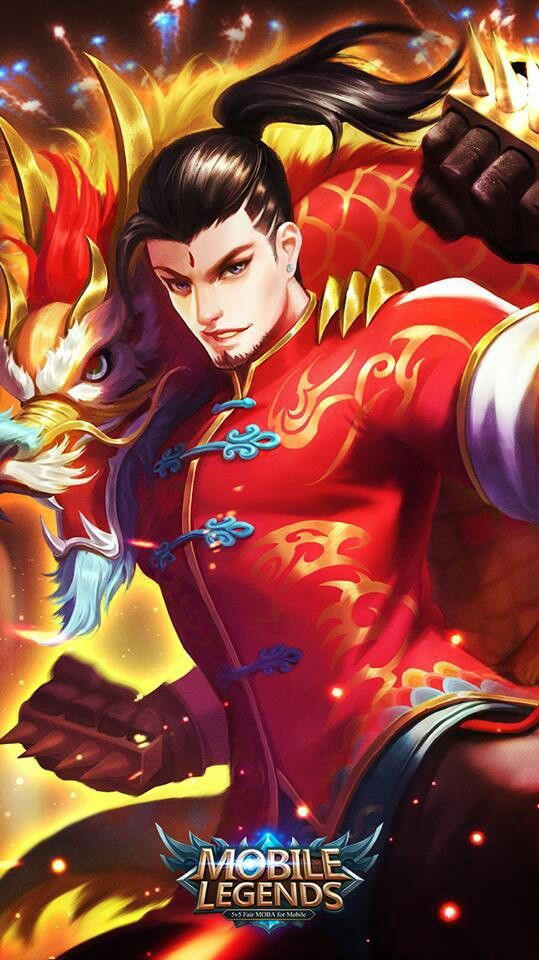 Chou Dragon Skin Mobile Legends Mobile Legend Wallpaper Mobile Legends Boy Mobile