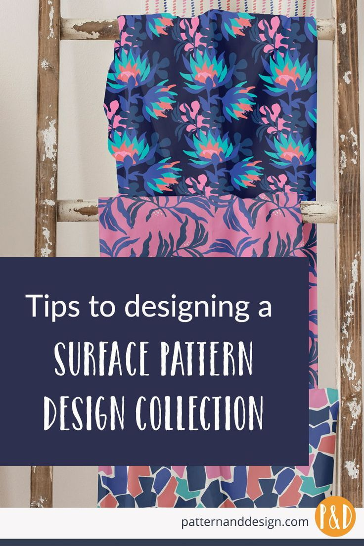 Learn how to design a surface pattern design collection. #surfacepatterndesign