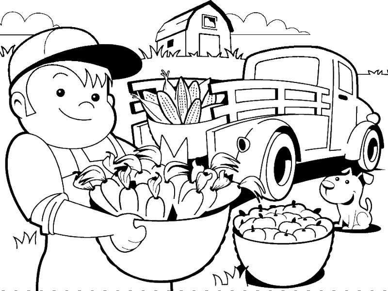Levantando el cultivo con camiones