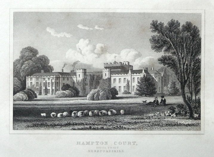 Hampton Court South Hope Under Dinmore Herefordshire Orig