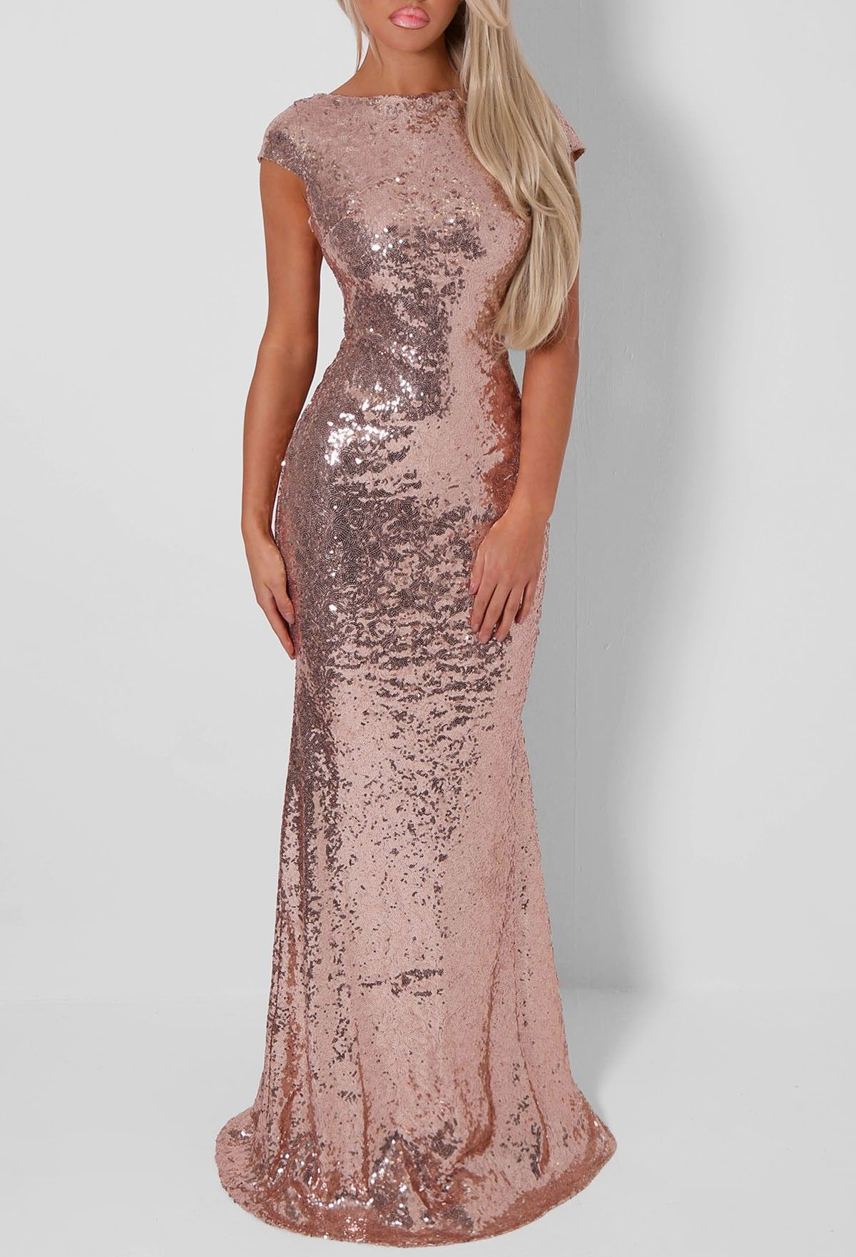 This amazing gold maxi is one of our fave occasion dresses at PB ...