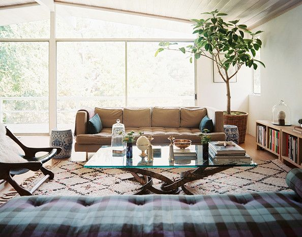 There's vintage-modern and modern-country, and classical-modern, etc. This is homey-modern.