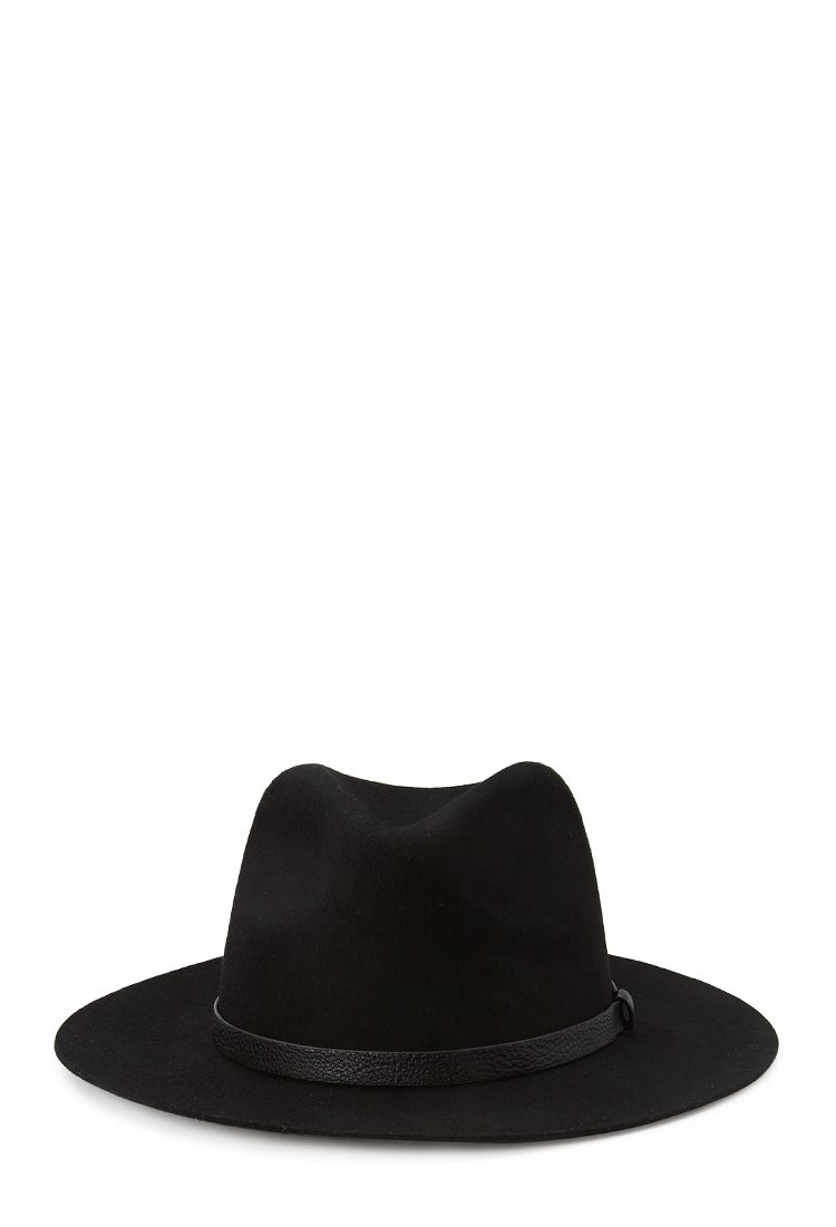 36b31c0439d Wide-Brim Wool Fedora  Accessories  Hat