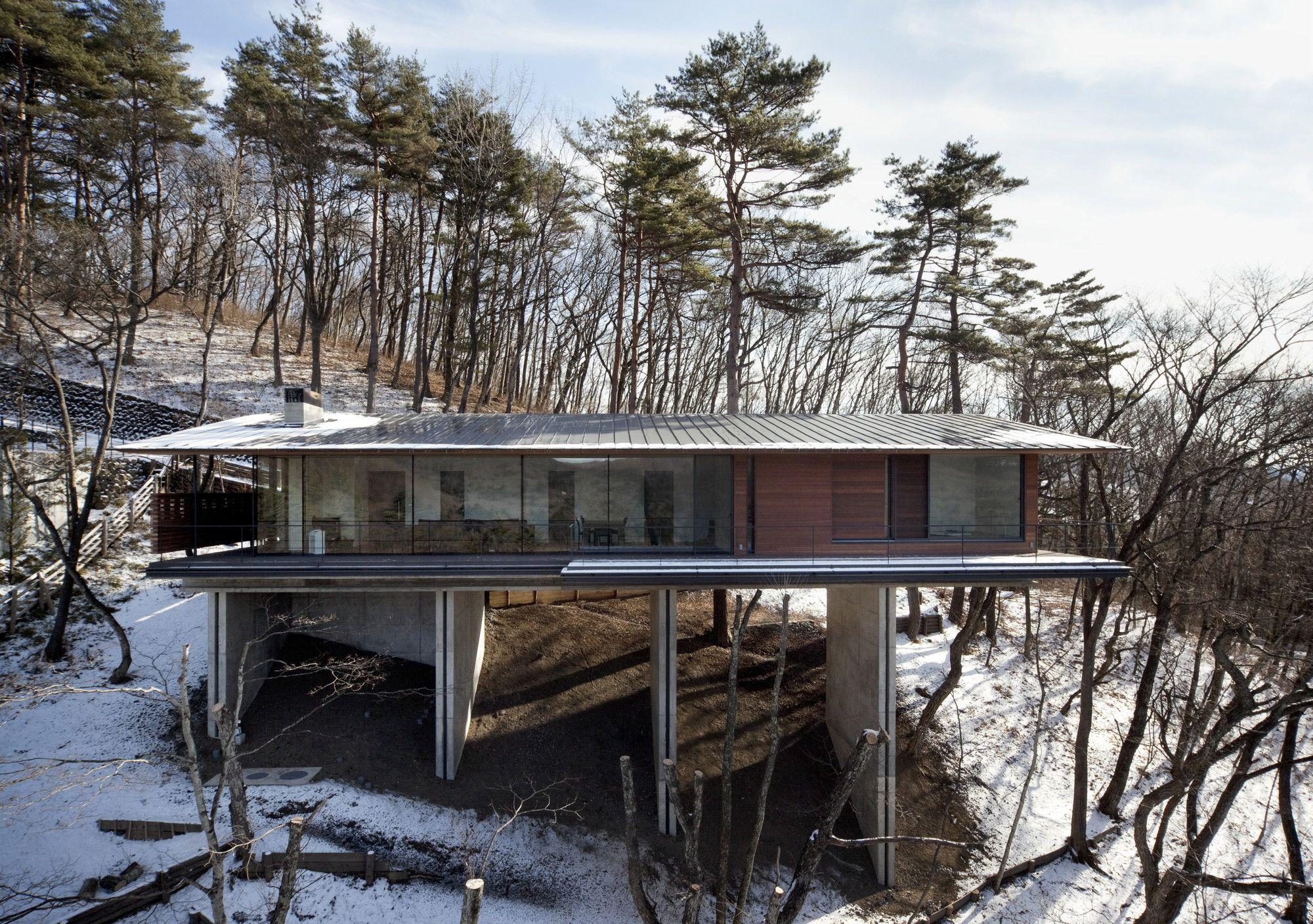 Elegant House In Asamayama / Kidosaki Architects Studio Amazing Ideas