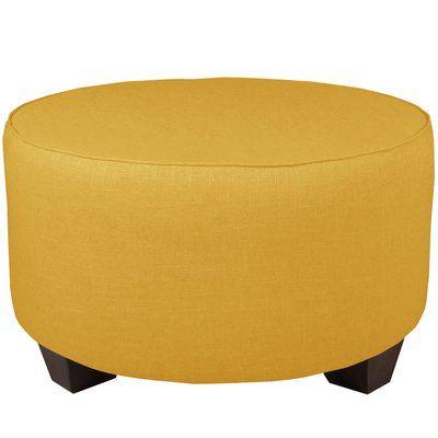 Pleasing Brayden Studio Cocktail Ottoman Color Linen French Yellow Ibusinesslaw Wood Chair Design Ideas Ibusinesslaworg