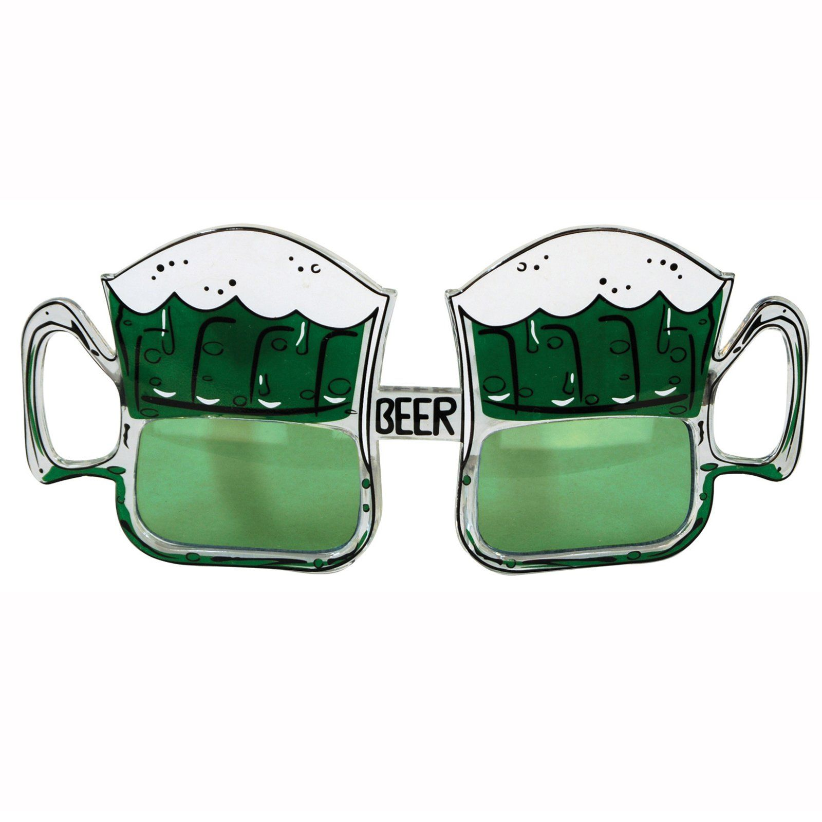 2a44e5f20fc5 St. Patrick Beer Mug Fanci-Frames Description: Everyone else will be green  with envy! You'll be stylin' on St. Patty's Day when you wear these sudsy  green ...