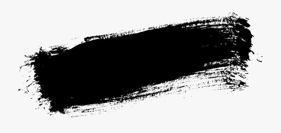Brush Stroke Png Black Paint Stroke Desain Pamflet Desain Pertahanan