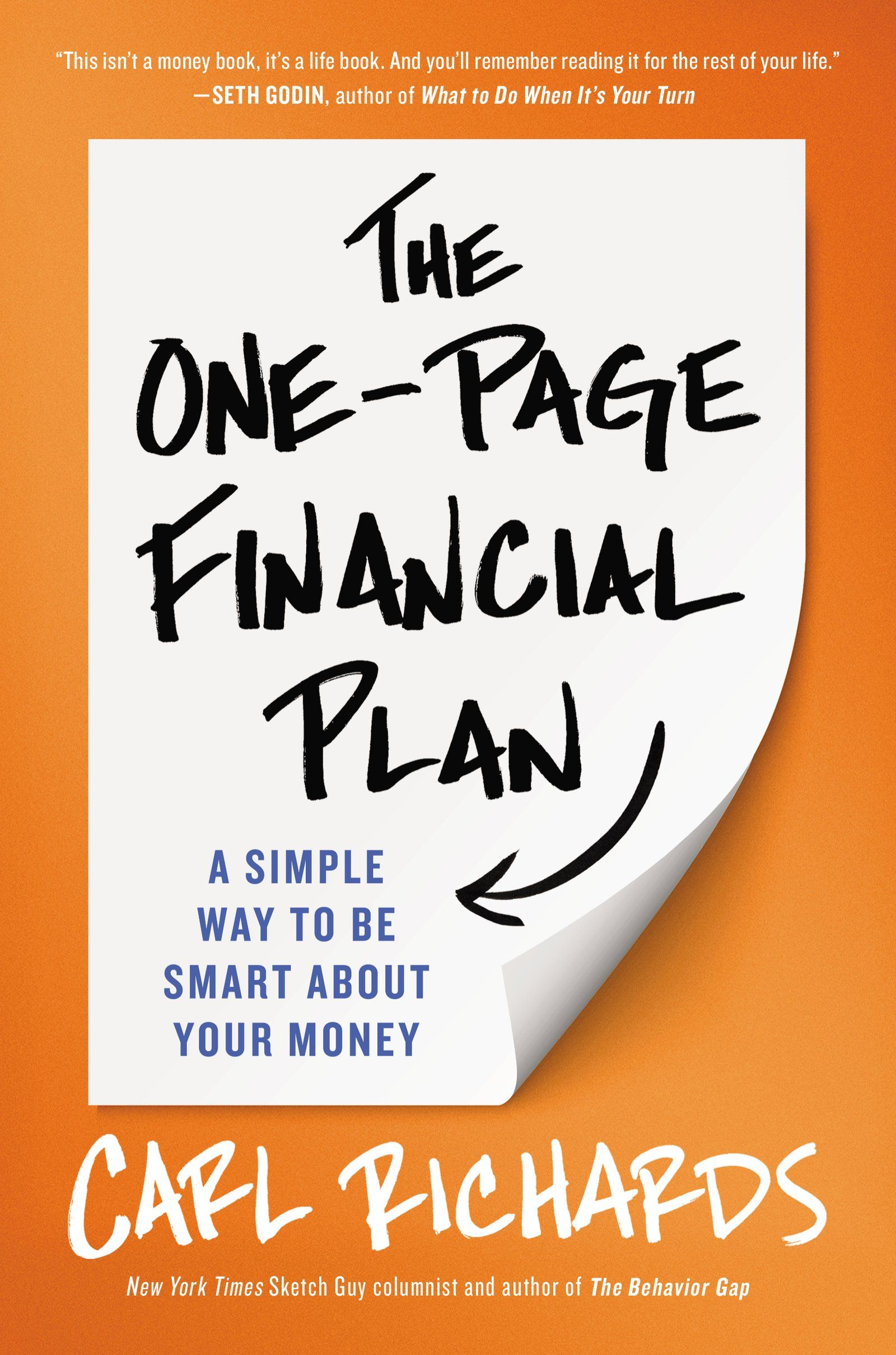 The One-Page Financial Plan: A Simple Way to Be Smart About Your  Money:Amazon:Kindle Store
