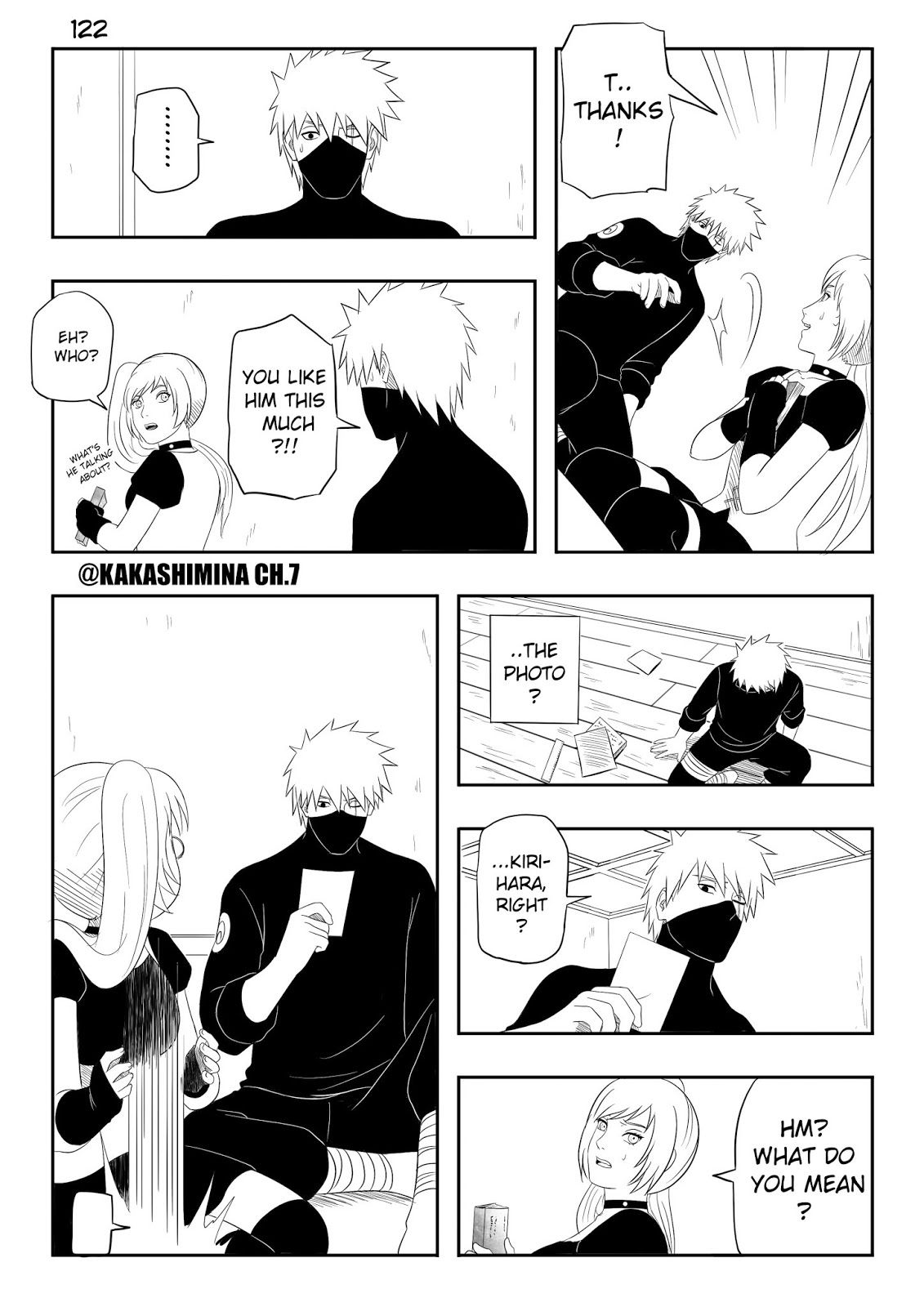 Naruto Fan Manga Kakashi x Mina Gaiden CH.7 Is he very