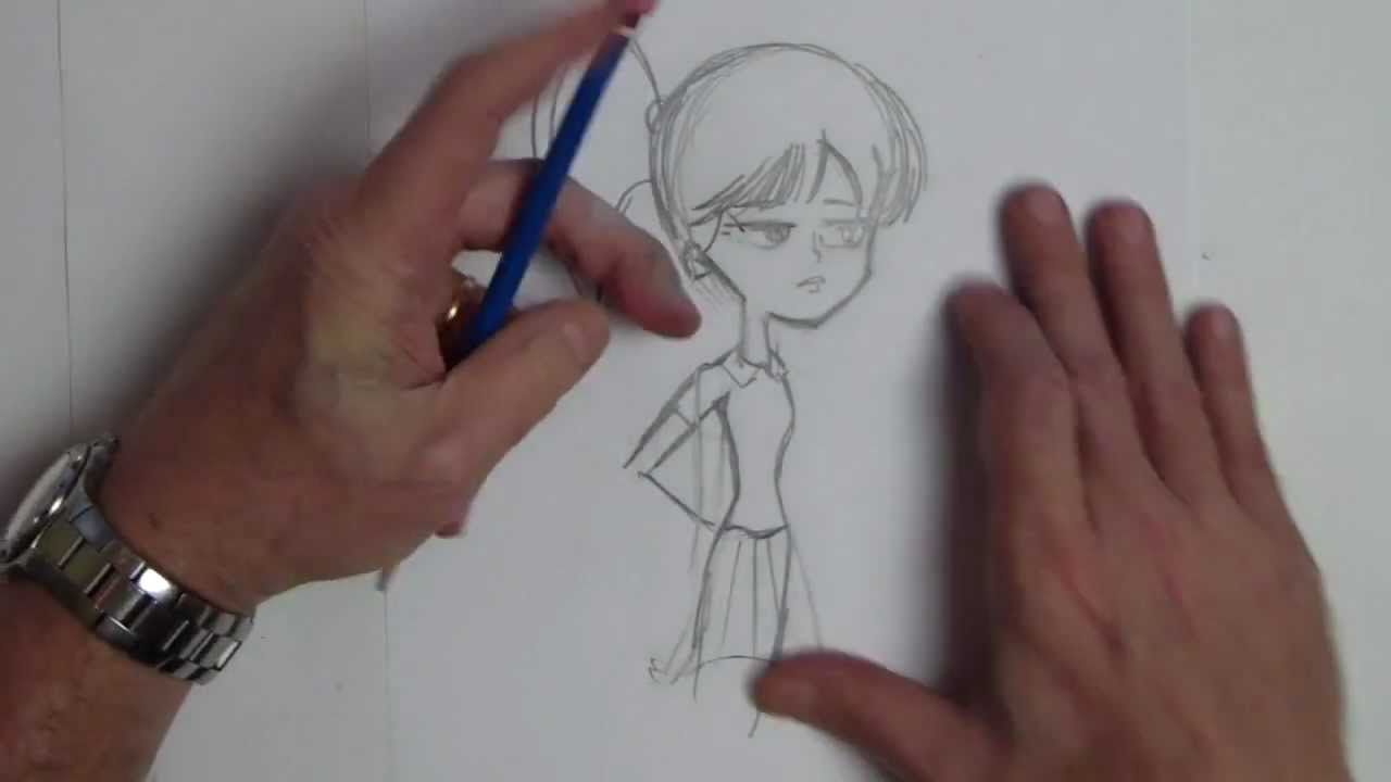 How To Draw A Teenager With An Attitude Learn To Draw Cartoons Drawings Draw
