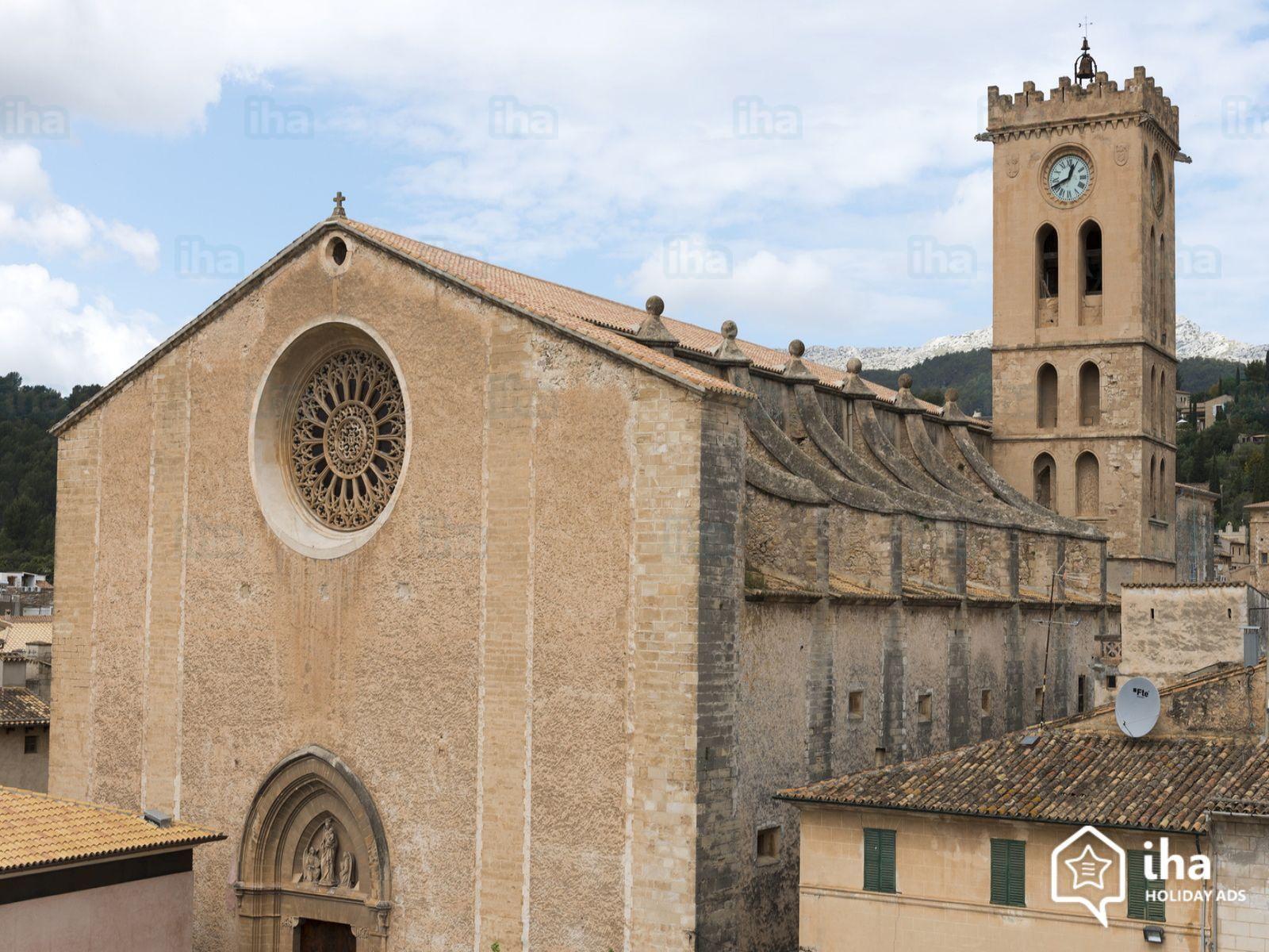 Mallorca Iglesia De La Virgen De Los ángeles En Pollensa Mallorca Edificios Virgen De Los Angeles