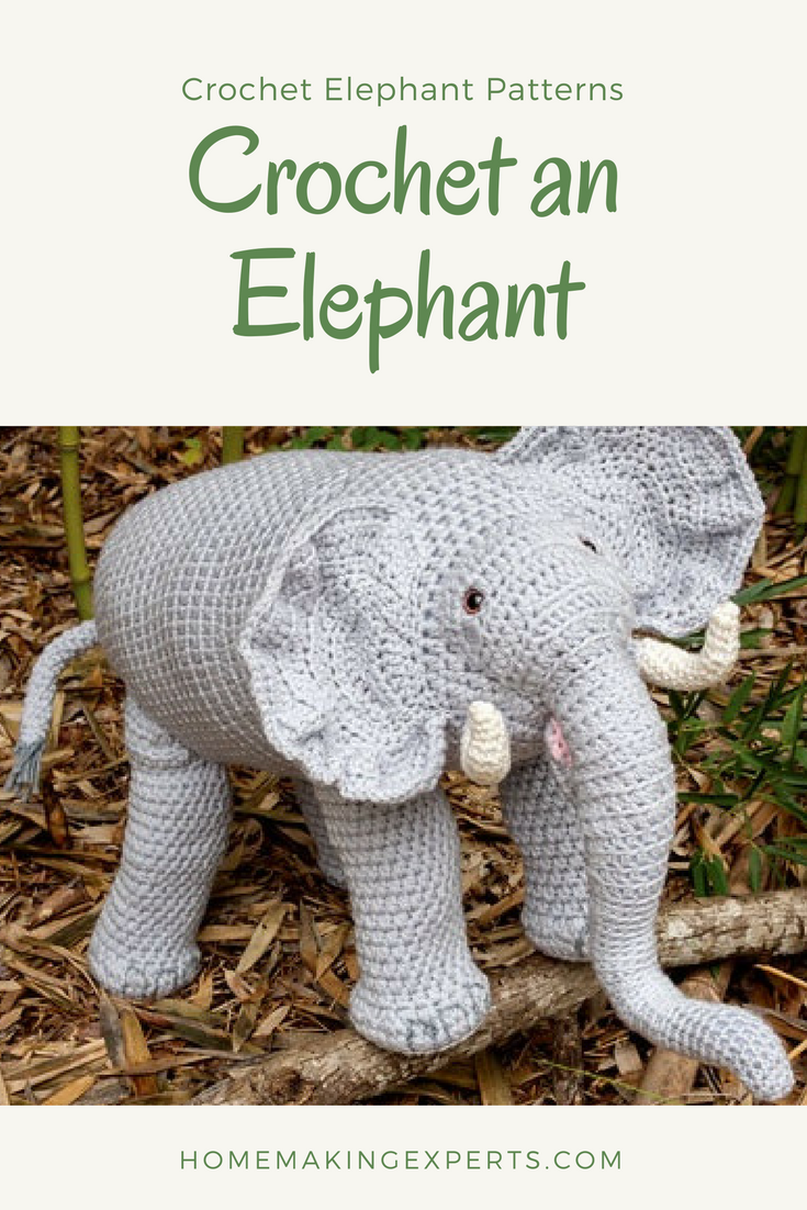 Crochet an Elephant Pattern My Journey to Finding the Right Crochet ...