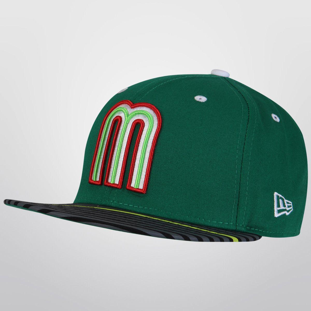 Demuestra tu afición por la selección mexicana con la Gorra New Era México  5950 Kelly Green ff3461a1816