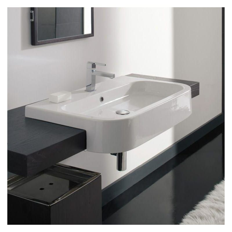 Nameeks 8047 D 80 Contemporary Bathroom Sinks Wall Mounted