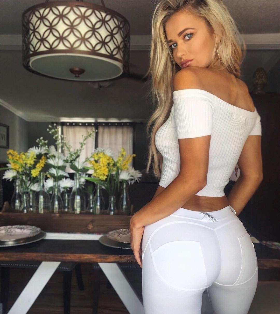 Sex Doll Dress | Dressed Slutty | Pinterest | White pants, White ...