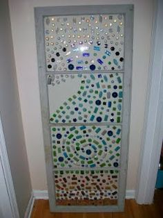 window glass bead mosaic - Google Search