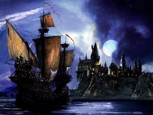 Pin On Book Film Harry Potter The ship could travel underwater, though, in practice, the students steered while headmaster igor karkaroff stayed in his cabin. pin on book film harry potter