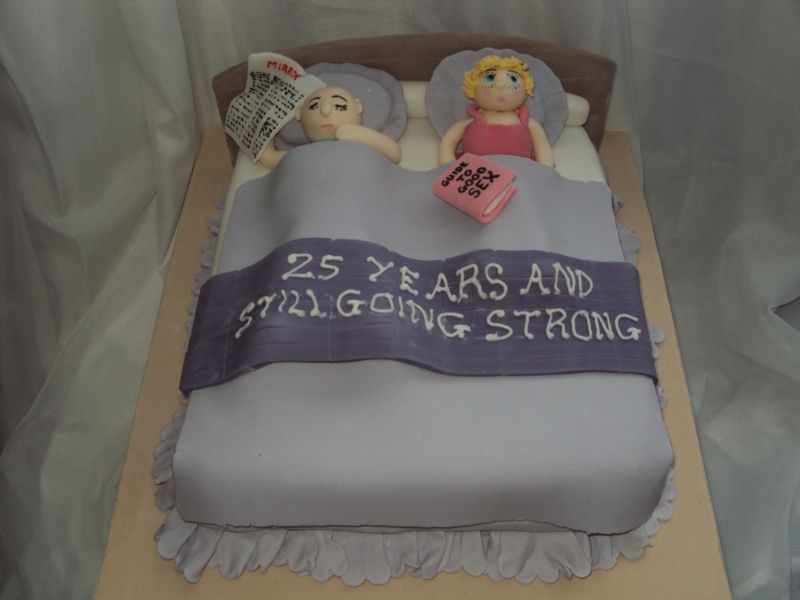 Funny 25th Anniversary Cake 25th Wedding Anniversary Cakes