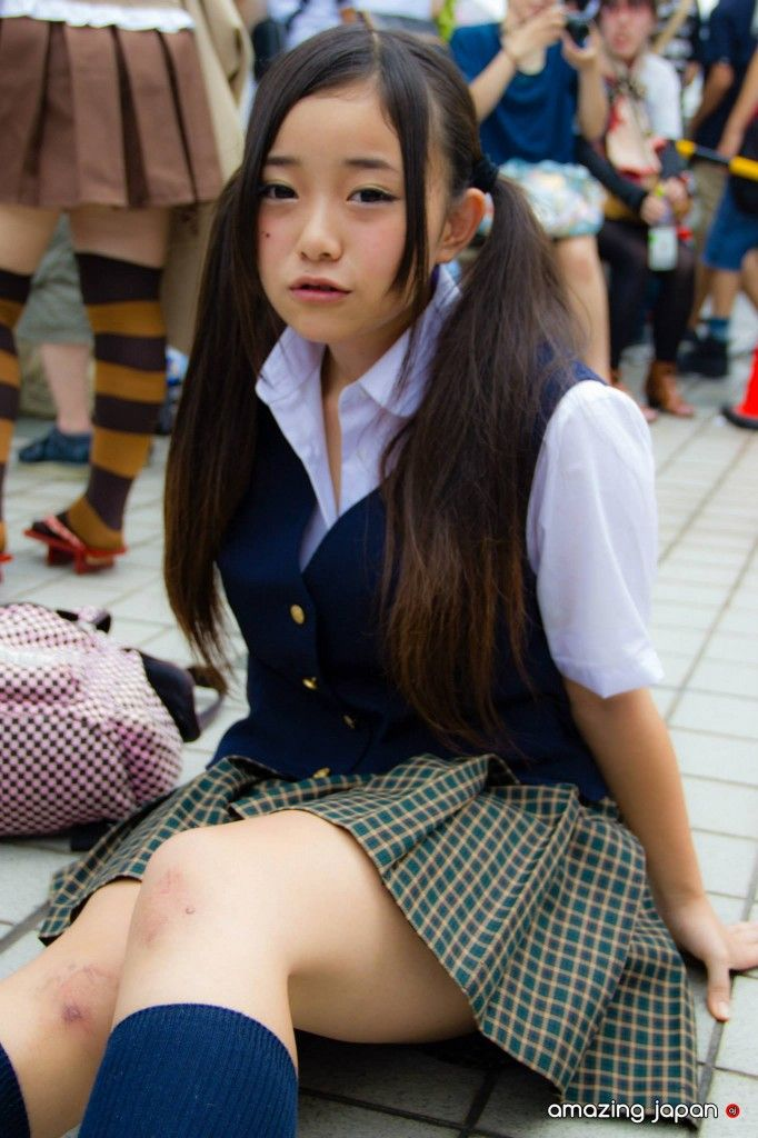 young-japanese-school-girl