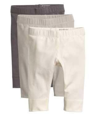 3-pack Pima Cotton Leggings