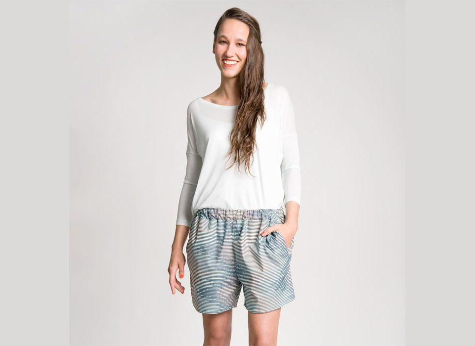 Schnittmuster Shorts Jessica | www.pom-pon.ch | Schnittmuster ...