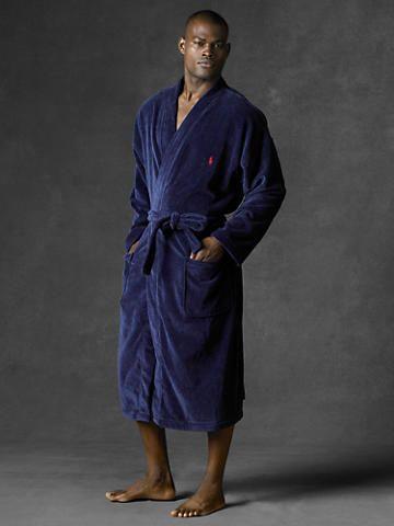 Terry Kimono Robe - Sleepwear & Robes Men - RalphLauren com