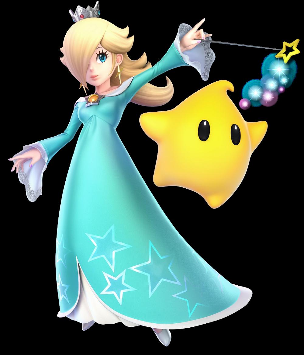 Princess Rosalina Star Is The Tritagonist Of The Game Super Mario Galaxy Rosalina First Appear Super Smash Bros Characters Super Mario Bros Super Mario Galaxy
