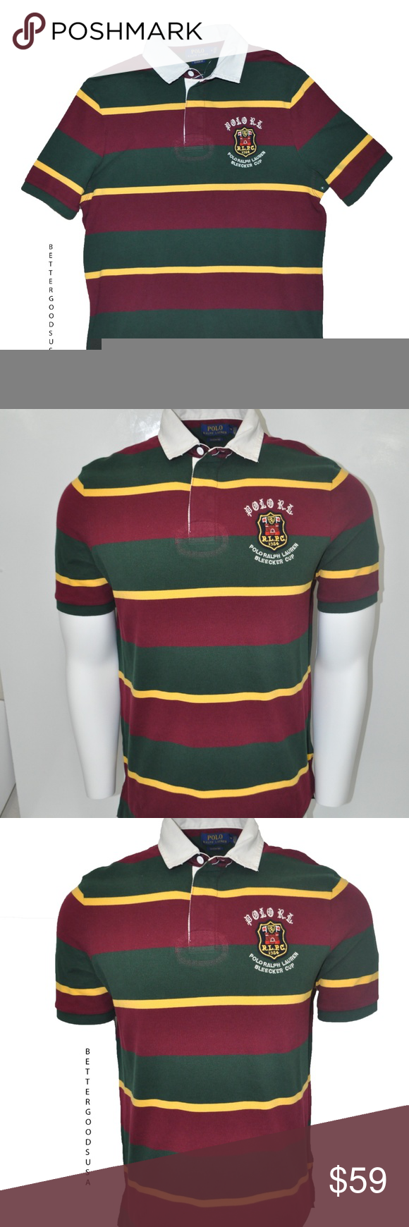 c1ba796fc Polo Ralph Lauren Rugby Polo Shirt Bleecker Cup M Brand New With The  Original Tags SIZE  MEDIUM (21