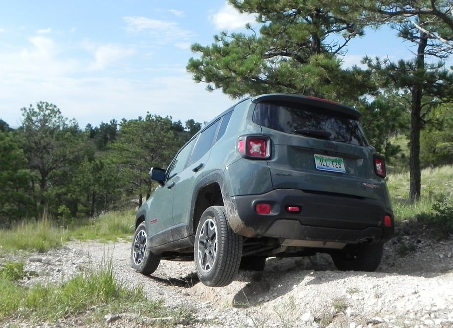 Review 2016 Jeep Renegade Trailhawk Is As Trail Ready As Its Name