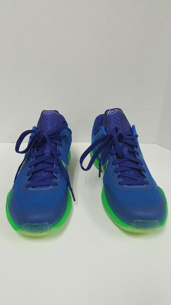 e2fcdcb440d02 inexpensive mens basketball shoe nike kobe 10 blue black ddb55 52430;  aliexpress brand new size 10.5 nike kobe 10 x low emerald city 705317 402  green royal