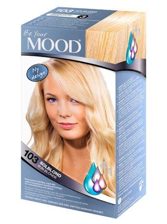 mood blekning för mörkt hår