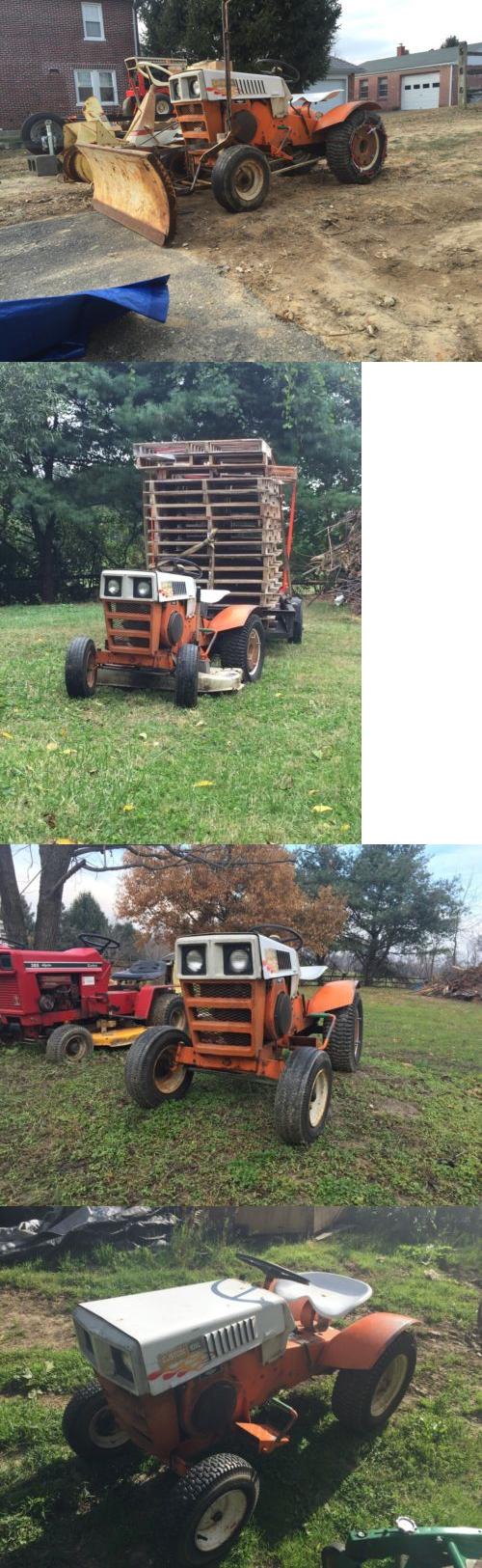 Riding Mowers 177021: Garden Tractor  1971 Sears Custom 10Xl