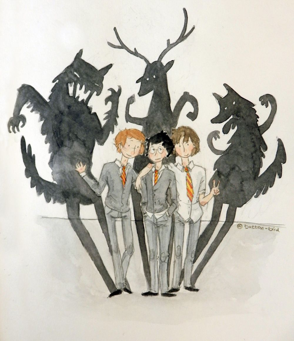 The Dog, The Stag And The Beast by button-bird