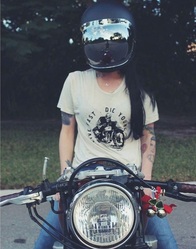 Danielle Vee - motorcyclist and blogger