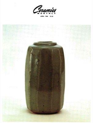 Ceramics Monthly April 1980 Ceramics Monthly Ceramics Monthly Ceramics Stoneware Vase