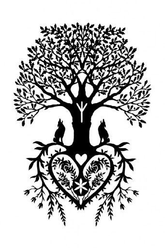 Tree Of Life With The Heart As Roots Tree Of Life Tattoo Tree Of Life Art Tree Of Life