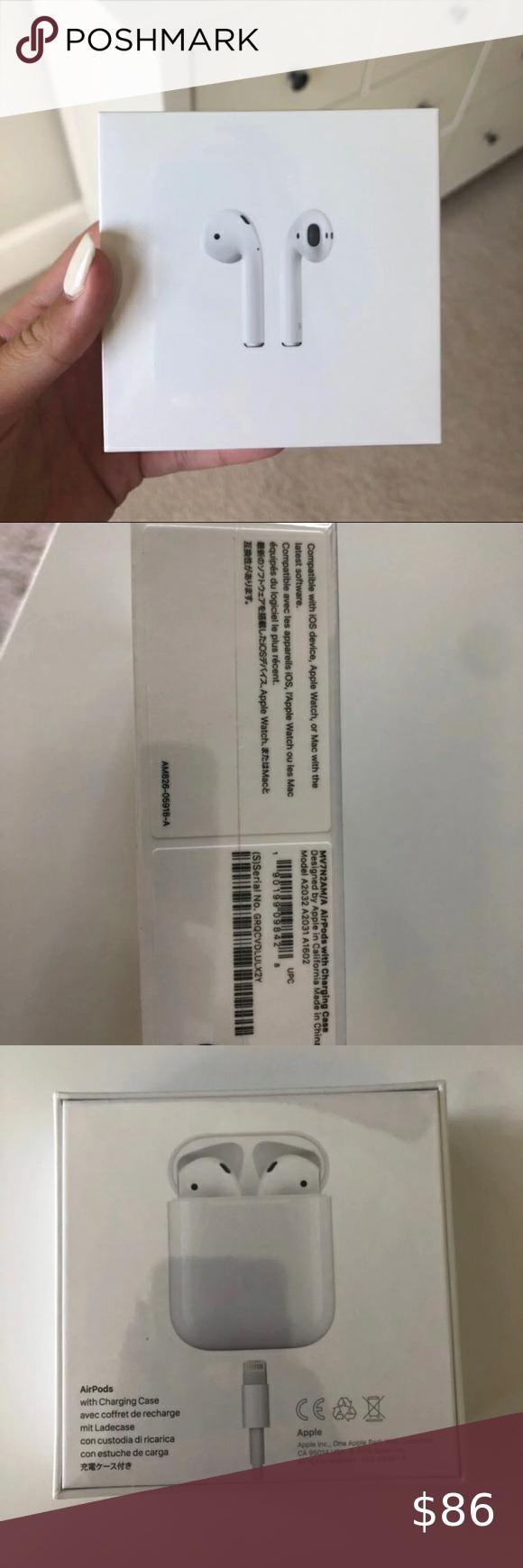 Apple Airpods 2 Apple Airpods 2nd Gen Airpods 2nd Gen Charging Case Authen Apple Airpods 2 Apple Products Apple