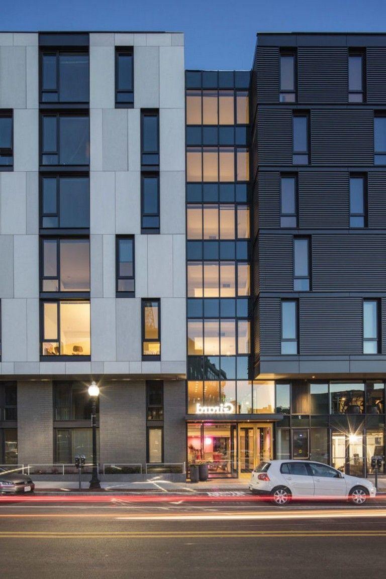 35 Amazing Apartment Building Facade Design Ideas Facade