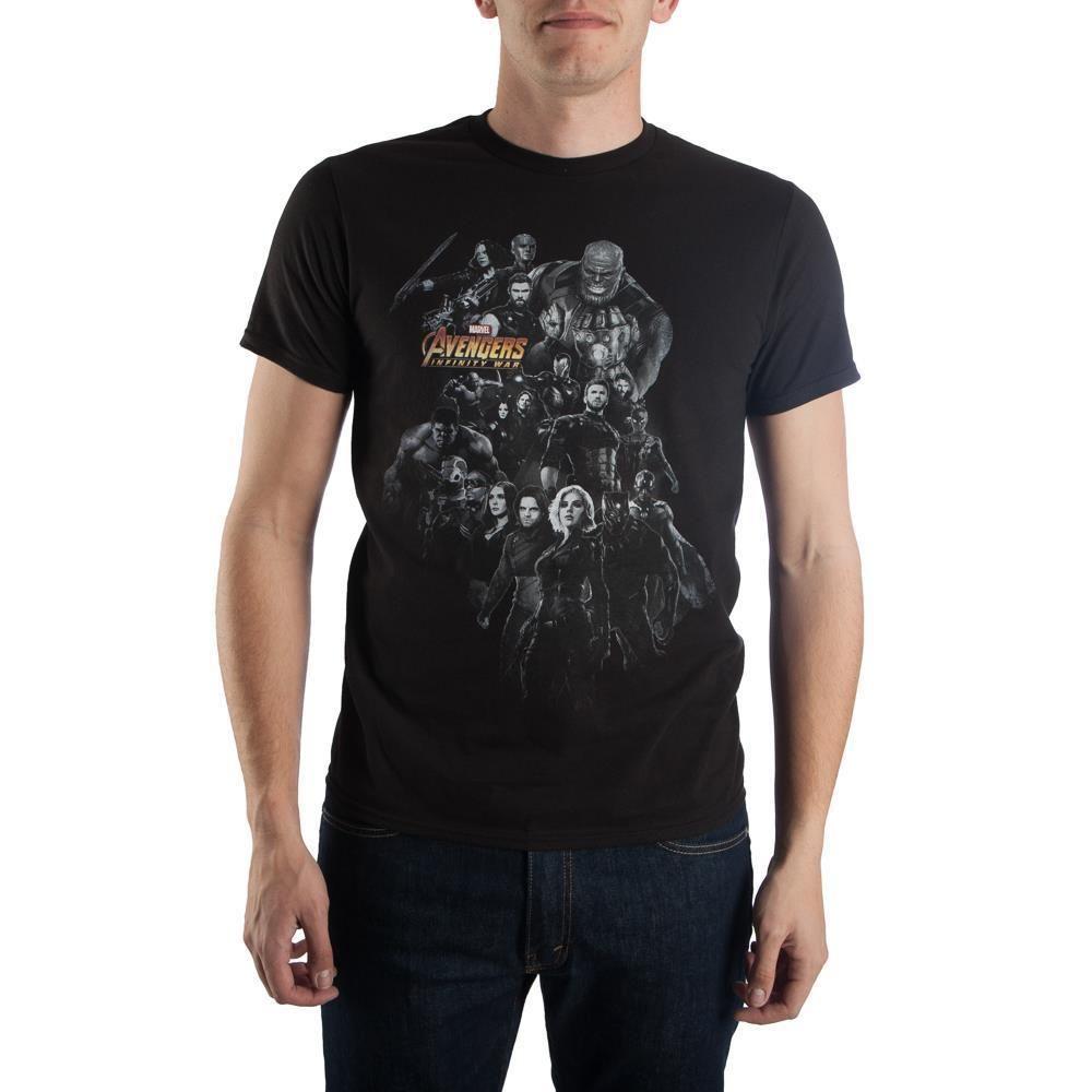 Marvel Boys Avengers Infinity War Rainbow Icons T-Shirt