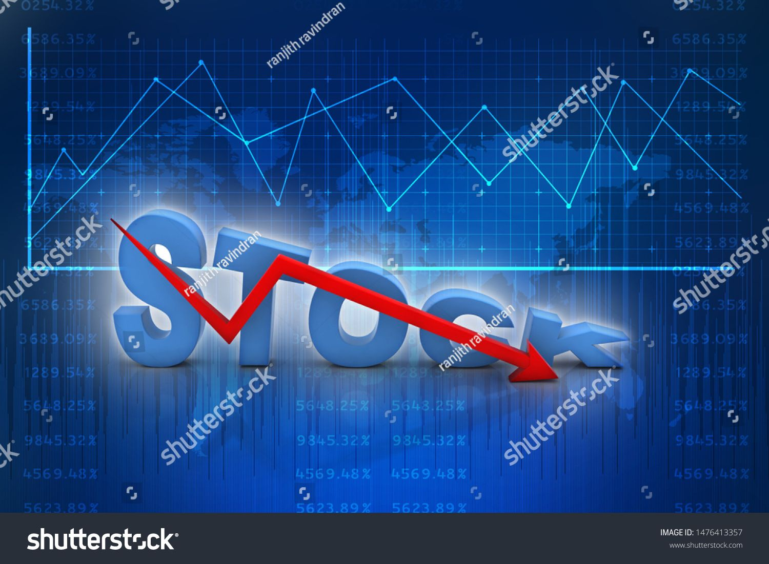 3d Rendering Stock Market Online Business Concept Stock Business Graph Sponsored Ad Market On In 2020 Online Business Marketing Online Marketing Online Business