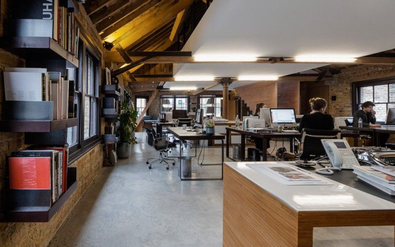 Contemporary office interiors historic google search for Modern office building interior