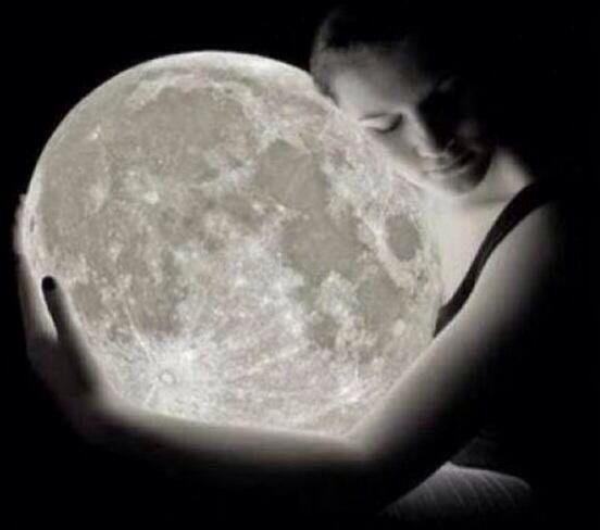 Abrazar a la luna